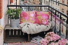 Porches, Patios and Decks / fabulous decor for porches and decks