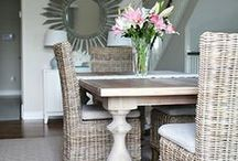 dining rooms. jana bek design / These are dining rooms designed by Jana Bek Design through E-Design, interior design accomplished via email, Facetime, & phone exchanges. Jana has worked with clients in cities & countries around the world.  Jana Bek Design has been featured on the blogs of Pottery Barn, West Elm, Ballard Designs, Land of Nod, House Beautiful, & on CNN.com, Inspired by This Blog, iVillage, & in HGTV magazine.