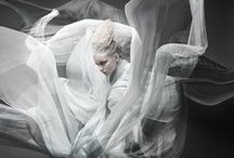 Avant Garde Fashion Photography: blurring the lines between fashion and art / fashion photography, some digital manipulation, art, design, women's fashion, couture, fantasy photography, fashion editorials, avant-garde fashion