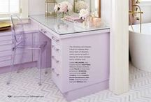 SOFT PURPLE INSPIRED / From lilac to lavender this feminine hue is ultra elegant and surprisingly versatile, pair with gray for a moody vibe or gold for over the top glamour.