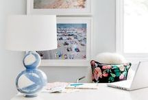 PRODUCTS BEK DESIGN / Our brushstroke lamps are made in the United States. Each lamp is hand painted to order by Jana.