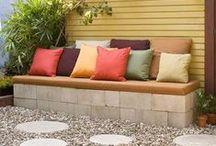 outdoor living ideas / decks, patios, outdoor living spaces, garden DIYs, inexpensive and some downright cheap ideas