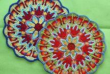 crocheted mandalas / circular crochet, mandalas!  / by Lindsay Obermeyer