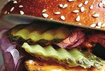 Hamburger & panini