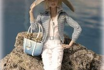 """High Style for fashion dolls / fashion dolls, Silkwood dolls, Barbies, clothing and accessories, 11 1/2"""" fashion dolls, fashion design, Mattisse Fashions"""