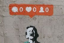 "BANKSY / ""Send all questions, complaints and threats to faq@banksy.co.uk. Banksy is NOT on Facebook, NOT on Twitter or NOT represented by Steve Lazarides or any other commercial gallery."" Banksy."