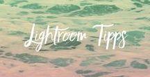 LIGHTROOM TIPPS / Ich sehe Lightroom als bestes Verwaltungs-Programm für Bilder an. Dieses Programm hat unzählige Möglichkeiten. Hier findest du eine Auswahl an Anleitungen und Tutorials.
