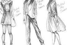 •Fashion Sketches•