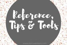 Reference, Tips and Tools / Helpful information for crafters and DIYers.