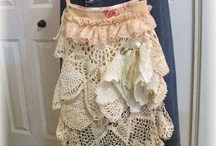 vintage crochet and lace