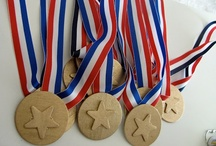 Party {Kindergarten Olympics} / Ideas for an Olympics themed party, specifically ideas for younger kids
