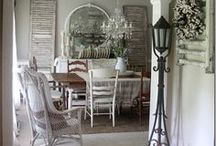 Farmhouse Dining Room / The favorite room in our home!