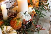 Fall Traditions / Fall crafts, recipes and decorating ideas. September, October, November. Fun things to do, make and eat in Autumn.