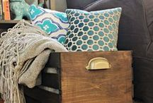 Organized Life / Organization ideas for every area of the home. Getting your home life act together. Organizing an empty nest.