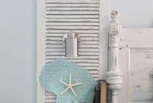 Home by the Sea - Shabby Beach / My mom was an original picker and pretty much saved everything. My sis is very girly and a thrift store queen.  You don't have to spend alot to be comfortable and chic.   So this board is for you.  / by Belinda Bailey