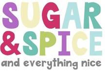 Party {Sugar & Spice Baby Shower} / A Sugar & Spice themed baby shower for a girl -