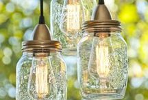 Crafts | Mason Jars & Bottles / Mason Jar, Wine Bottle, and Recycled Glass Container Crafts