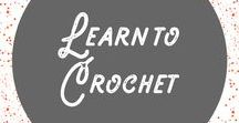 Learn How to Crochet / I teach beginner crochet at Craftsy! If you've never crocheted before or want a refresher, learn with me: http://shrsl.com/rd0w