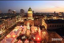 Kerstmarkten / Pins van de best beoordeelde kerstmarkten in Europa.