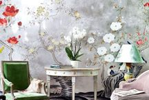 Wallpaper chic / At Pebble Hill design we love a statement wall (or ceiling!) / by Ridiculously Chic