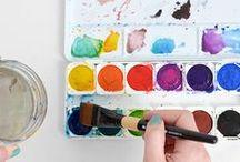 DIY | Watercolor / Watercolor Tips & Inspiration / by Dawn Nicole Designs