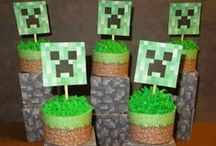 Party {Minecraft} / Ideas for a Minecraft themed party