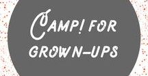 Camp (for Grown-ups!) / Why don't we grown-ups give ourselves time and permission to have a giddy time making stuff anymore? No good reason, is what I say. These are projects and ideas I think will help us get back to having that kind of super funtimes. For EVEN MORE fun, sign up for some guided adventures in making at http://camp.kimwerker.com!