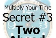 Routines for Living / Daily life. Ideas, schedules, tips and hacks for a smooth running life. Empty nest routines.