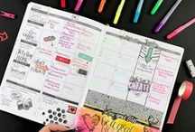 Planner Ideas + Inspiration / Planner love: Ideas, Inspiration, Planner Stickers, Bullet Journaling, and more!