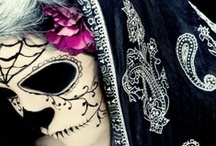 DIA DE LOS MUERTOS: Makeup and Nails
