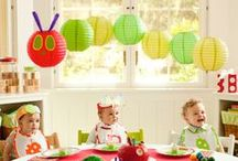 Childrens Party Ideas / Childrens party usually involves some popular TV or film character and for the little ones there is never enough ladybugs, turtles and owls right? :-)