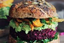 Vegetarian inspiration / Inspiring vegetarian food, recipes, meat-free healthy living