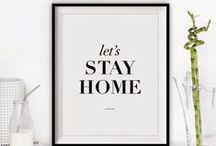 Type, Prints, Art / Typology, prints and art for the home
