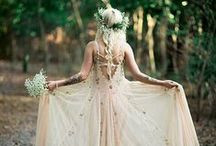 Whimsical wedding / Whimsical and rustic wedding inspiration