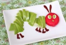 Creative Kids Food / they are hungry, but they don't like your food. Well, this creative fun food board is a collection of brilliant ideas and they will want more!