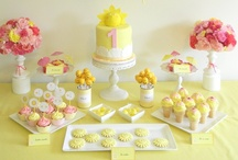 Yellow Party Ideas / Yellow or Sunshine Party ideas. It is great idea especially here in Ireland, where it rains a lot :-)