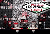 Casino Party Ideas / Casino party, poker party and Las Vegas party are very popular themed parties for adults so I believe they seserve their own section. Get inspired and bring it on.