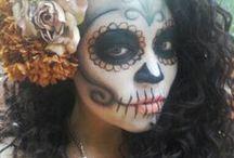 Dia de los muertos faces / by Nisha Taylor