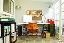 Home continued (office & library) / by K H