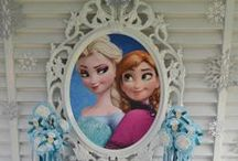 Frozen Party Ideas / Disney Frozen party ideas. Anna and Elsa are very popular TV characters these days and parents are looking for ideas how to organise their Frozen party. Get inspired with few ideas we pinned together.
