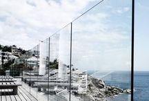 glass BALUSTRADES / frameless glass balustrades using toughened and laminated safety glass.