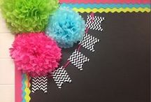 Classroom Decor / Ideas for classroom decor in the kindergarten classroom! Decorations, themes, elementary, preschool, special education, DIY, on a budget, English, math, calming, bulletin boards, daycare, Spanish, music, art, science, and more.