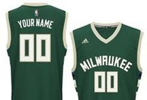 New Logo Bucks Jerseys / All the jerseys available online at shop.bucks.com! More gear available at Bucks Pro Shops-- Find store locations and gear @Bucksproshop (Twitter & Instagram)  / by Milwaukee Bucks