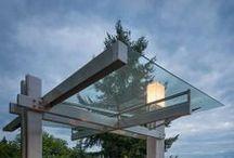 glass SKYLIGHTS / skylights and porticos using glass.