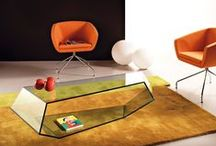 glass furniture / made with glass