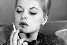 feminine smoking