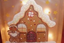 Gingerbread Cottage / by Kathy Sheffer