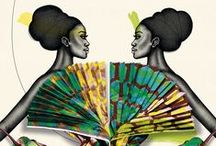 """♫ Africa ♫ / """"The bright colors, distinctive designs, and hand-made quality give us something truly extraordinary that also has a rich cultural meaning."""" / by Ilda Martins"""