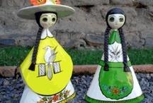 Folkloric dolls / by Ilda Martins