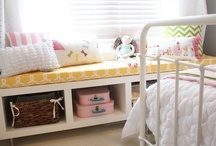 Olivia's big girl room ideas (one day) / by Jill Schindel